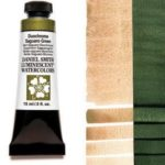 Duochrome Saguaro Green 15ml Tube – DANIEL SMITH Luminescent Watercolor