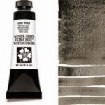 Lunar Black 15ml Tube – DANIEL SMITH Extra Fine Watercolor