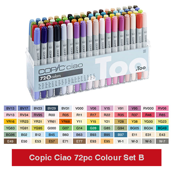 Copic-Ciao-72pc-Color-Set-B-product-image
