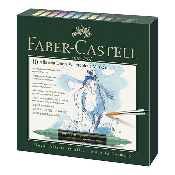 Faber-Castell-Albrecht-Durer-Watercolour-Marker-Gift-Box-of-10