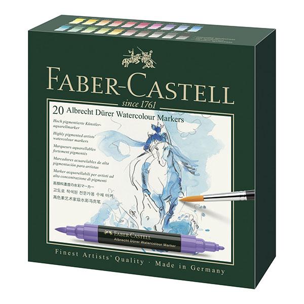 Faber-Castell-Albrecht-Durer-Watercolour-Marker-Gift-Box-of-20