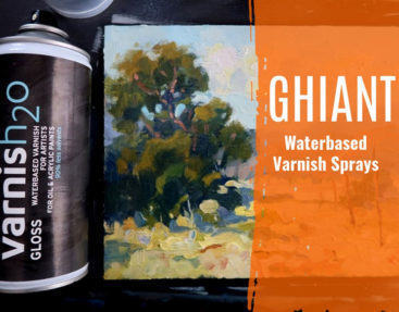 Ghiant Waterbased Spray Varnish for Oils and Acrylics – Say Goodbye to Toxic Sprays