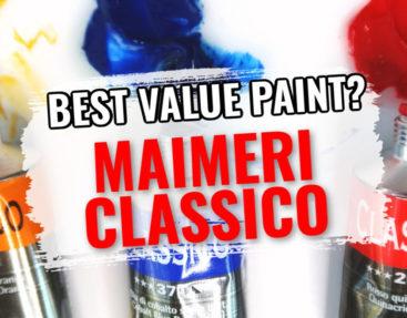 Is Maimeri Classico the Best Value Student Oil Paint?