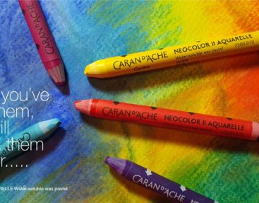 Caran D'Ache NeoColor II Aquarelle – Once you've tried them, you will love them forever…