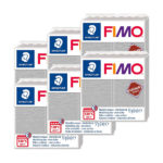 Fimo-Leather-Effect-Bulk-Packs-of-the-colour-Dove-Grey-#809