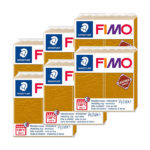 Fimo-Leather-Effect-Bulk-Packs-of-the-colour-Ochre-#179