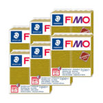 Fimo-Leather-Effect-Bulk-Packs-of-the-colour-Olive-#519