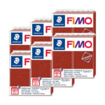Fimo-Leather-Effect-Bulk-Packs-of-the-colour-Rust-#749