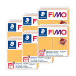 Fimo-Leather-Effect-Bulk-Packs-of-the-colour-Safran-Yellow-#109