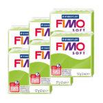 Fimo-Soft-Bulk-Packs-of-the-colour-Apple-Green-#50
