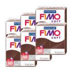 Fimo-Soft-Bulk-Packs-of-the-colour-Chocolate-#75