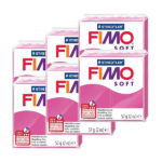 Fimo-Soft-Bulk-Packs-of-the-colour-Raspberry #22