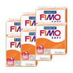 Fimo-Soft-Bulk-Packs-of-the-colour-Tangerine-#42