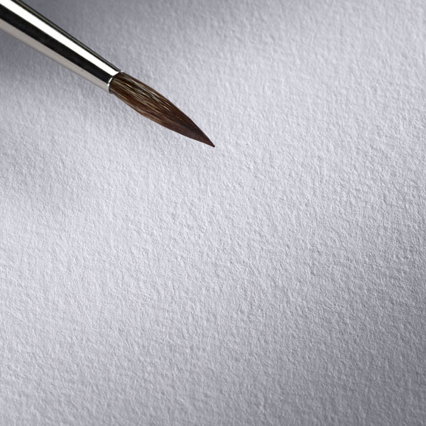 Hahnemuhle-Toned-Watercolour-Book-Grey-Paper-Texture-with-a-brush