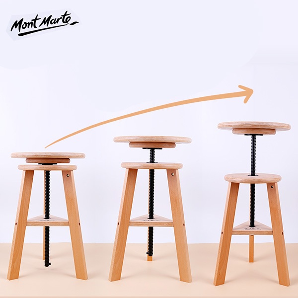 Mont-Marte-Easel-Stool-base-seat-going-up