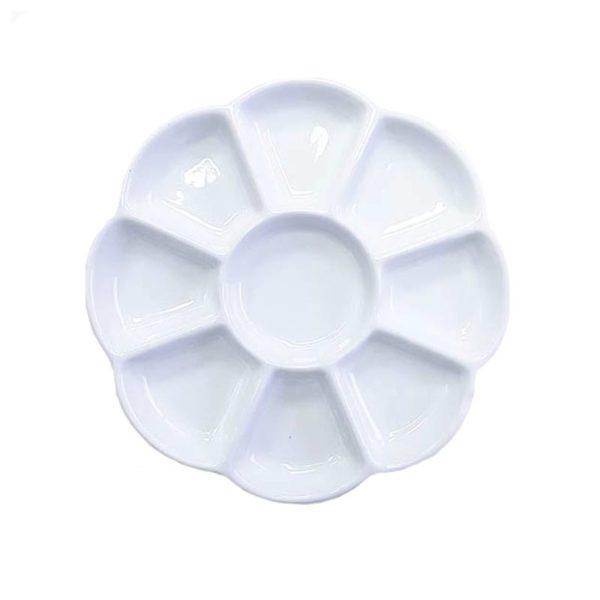 Porcelain-Palette-Round-9-Well-–-Prime-Art