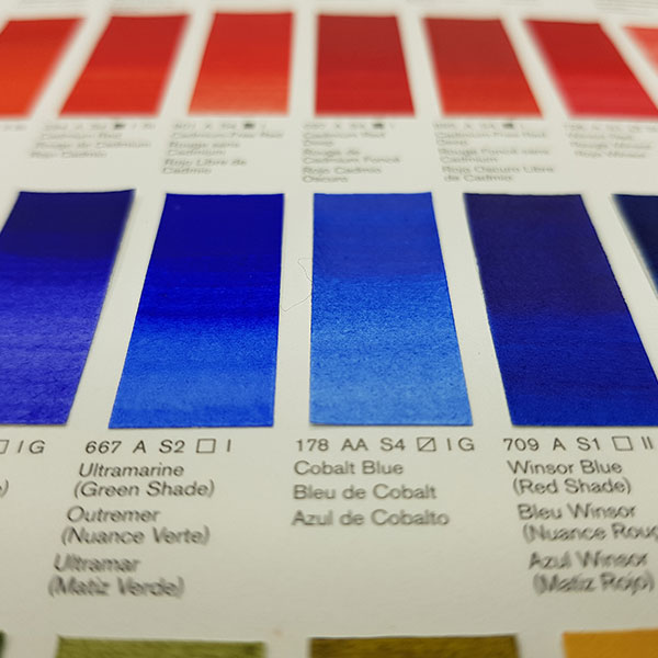 Winsor-and-Newton-Professional-Water-Colour-Hand-Painted-Colour-Chart-Blue-Shades-Close-Up