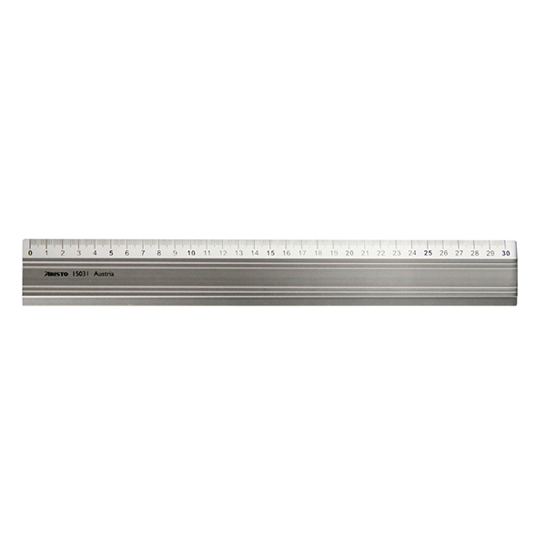 Aristo-Aluminum-ruler-30cm-long-AR15031