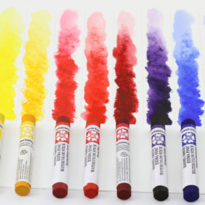 DANIEL-SMITH-Watercolor-Sticks-that-has-been-painted-with-on-paper