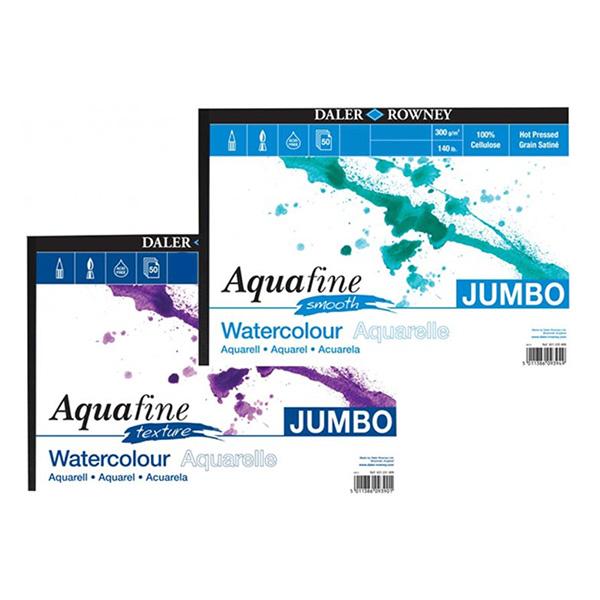 Daler-Rowney-Aquafine-Smooh-and-Texture-Watercolour-Paper-Jumbo-Pads