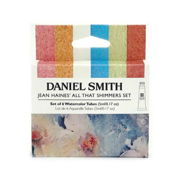 Daniel-Smith-Watercolour-Jean Haines Shimmer Set