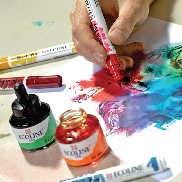 Ecoline-Brush-Pens-&-Ecoline-Inks-1