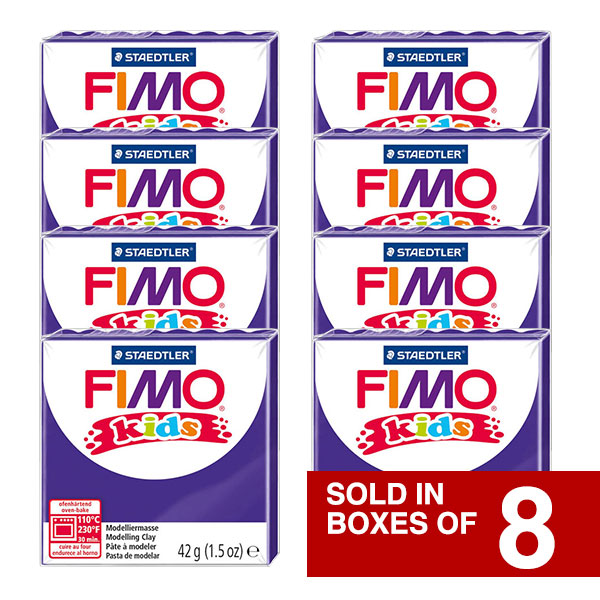 Fimo-Kids-Sold-in-Bulk-Packs-of-8-Lilac-colour