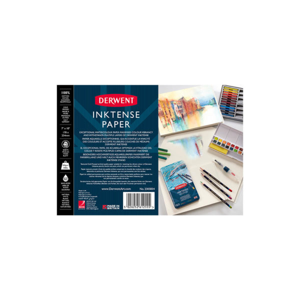 Inktense Paper Pads - Derwent Artsavingsclub 2