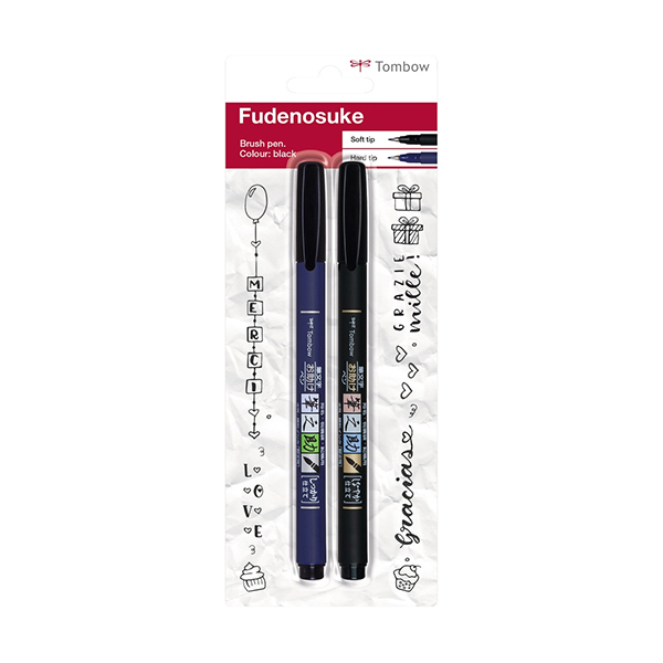 Tombow-Fudenosuke-set-of-2-blistered-Brush-Pens