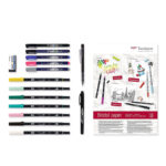 Tombow-Have-Fun-at-Home-Lettering-Set-contents-laid-out