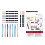 Tombow-Have-Fun-at-Home-Pastel-Set-contents-laid-out