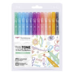 Tombow-TwinTone-set-of-12-Pastels-Colors-ws-pk-12p-2