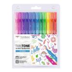 Tombow-TwinTone-set-of-12-Rainbow-Colors-ws-pk-12p-3