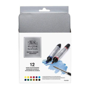 Winsor-and-Newton-Water-Colour-Marker-Set-of-12-0290001