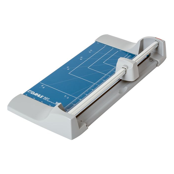 Dahle-Personal-Rotary-507-Trimmer-back-view