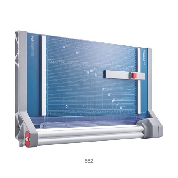 Dahle-Professional-Rotary-552-Trimmer-top-view