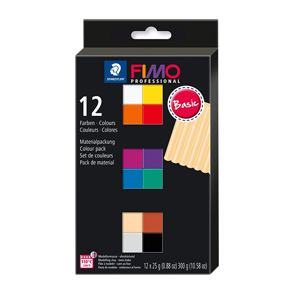 Staedtler-FIMO-Professional-Basic-Colour-Pack-with-12-Half-Blocks