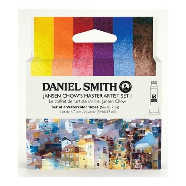 Daniel-Smith-Jansen-Chow-Master-Set-1-Set-of-6-5ml-tubes