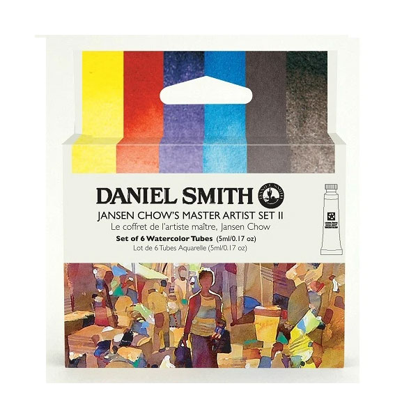 Daniel-Smith-Jansen-Chow-Master-Set-2-Set-of-6-5ml-tubes