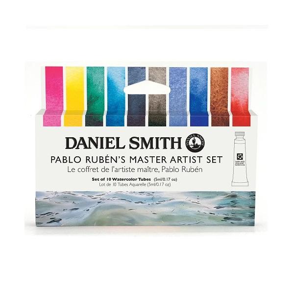 Daniel-Smith-Pablo-Ruben-Master-Artist-Set-of-10-5ml-tubes