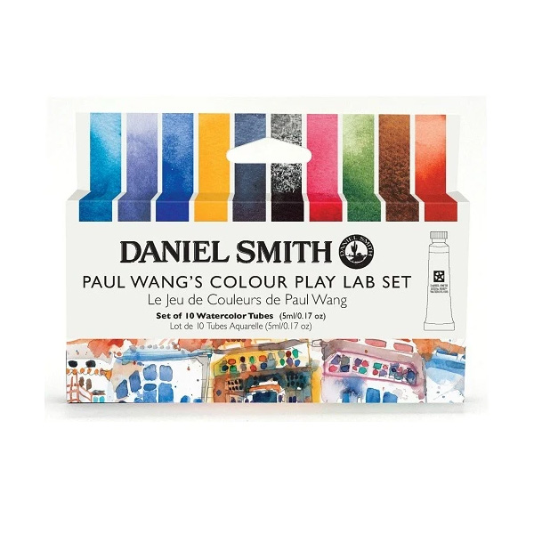 Daniel-Smith-Paul-Wang-Colour-Play-Set-of-10-5ml-tubes