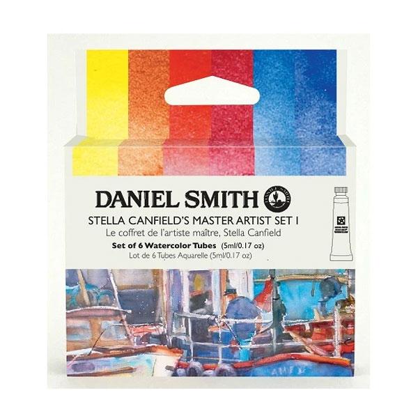 Daniel-Smith-Stella-Canfield-Master-Set-1-Set-of-6-5ml-tubes