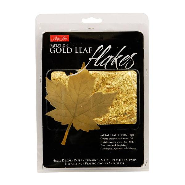 Artist-First-Choice-Imitation-Gold-Metal-Leaf-Flakes