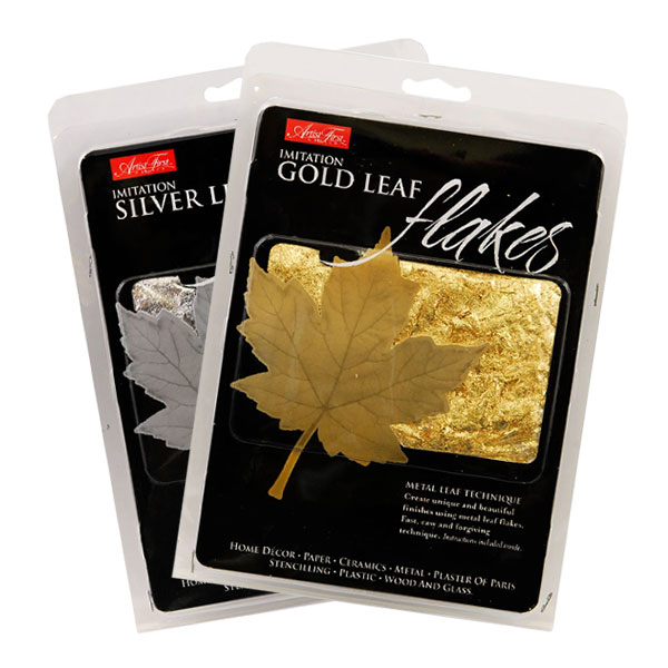 Artist-First-Choice-Imitation-Gold-and-Silver-Metal-Leaf-Flakes
