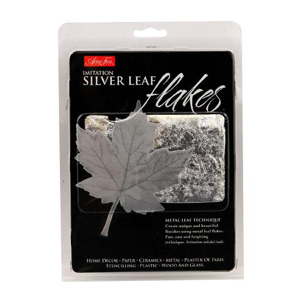 Artist-First-Choice-Imitation-Silver-Metal-Leaf-Flakes