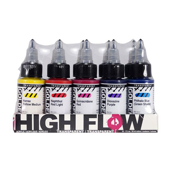 GOLDEN-High-FlowTransparent-Colors-Set-#-954