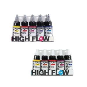 High Flow Acrylic Paint Sets - Golden