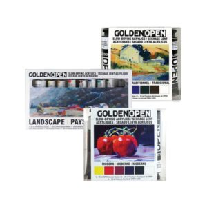 OPEN Slow-Drying Acrylic Sets - Golden