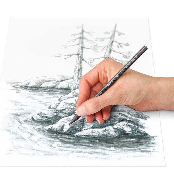 Staedtler-Mars-Lumograph-Pure-Graphite-Sketch