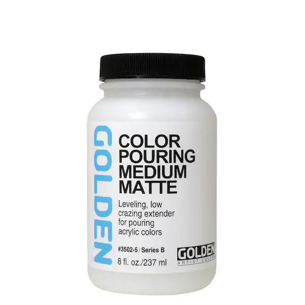 Golden-Fluid-Color-Pouring-Medium-Matte-(3502)-237ml-Bottle